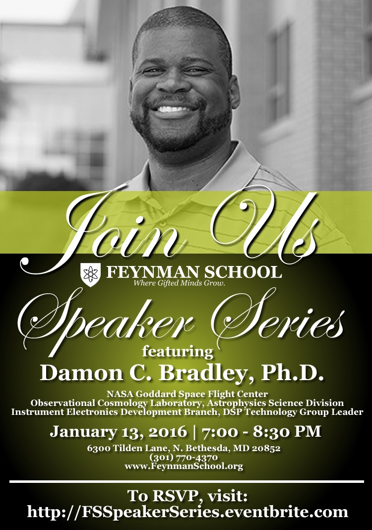 FS Speaker Series with Damon C Bradley PhD - 1